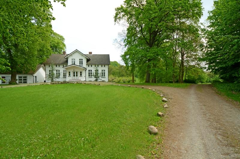 Herrenhaus - Auffahrt