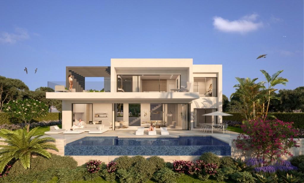 V1805-Moderne Neubau-Villen nahe Atalaya Golf in Estepona Ost